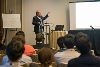 Dan Borneo (Engineering Program/Project Lead, Sandia National Laboratories, U.S.) presented at the Intersolar Study Program during Intersolar North America