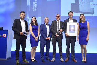 """ees AWARD: SOCOMEC was honored for """"Microgrid Energy Storage Solution – High-efficiency at low load levels"""""""