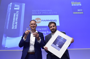 """SUNFarming was honored for the """"SUNFarming Food & Energy Training Project"""""""