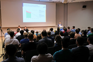 Carsten Körnig, Chief Executive Officer BSW-Solar gave an inspirational speech at Intersolar Europe's Study Program