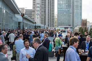 Intersolar brings together people, markets and technologies in a unique way. Picture: Intersolar and CALSEIA's annual Solar Summerfest – the official networking party to benefit the Californian solar industry