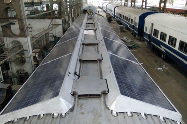 """Jakson Engineers Limited, """"Commissioning of Rooftop Solar PV System on Coaches of Indian Railways"""""""