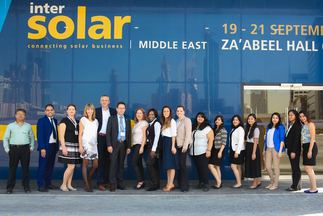 Intersolar Middle East celebrated its launch during  Intersolar's 25th anniversary year
