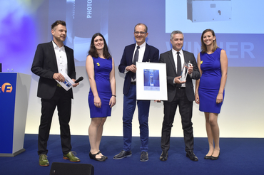 """Intersolar AWARD: ABB was honored for """"PVS-175-TL impresses with numerous innovations"""""""