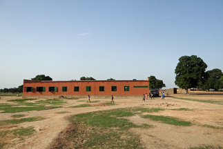 The elementary school in the village of Konkoa in southern Burkina Faso