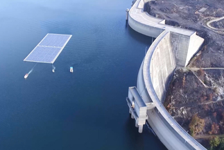 """Ciel et Terre USA, Inc., """"World's first hybrid FPV&Hydroelectric system at the Alto Rabagão Dam"""""""
