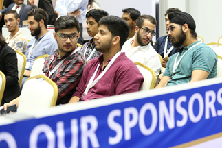 Students listened attentively at Intersolar Middle East's Study Program