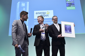 """Energy Depot Deutschland GmbH was honored for their product """"CENTURIO Energy Storage System"""""""