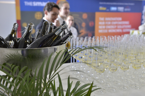 Champagne Reception after the official ceremony