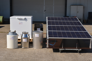 "Phaesun GmbH - Universität Hohenheim (Joint Submission), ""Solar powered cooling for enhancing milk value chains"""