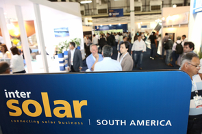 Bem vindos à Intersolar South America: Since 2013, Intersolar has been providing a platform for connecting with key stakeholders in Brazil, Chile and beyond. Picture: Intersolar South America welcomed more than 9,000 visitors to Sao Paulo in 2015.