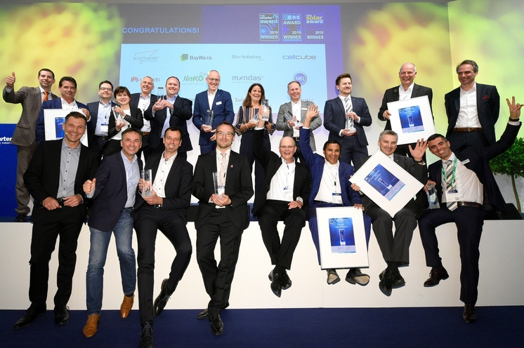 The smarter E, Intersolar und ees AWARD Gewinner 2019